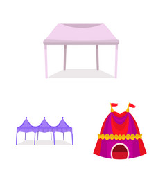 Awning and shelter icon vector