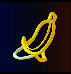 banana1 vector image