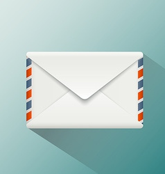 envelope style flat graphics vector image