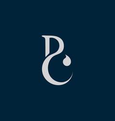 Letter b bc icon logocreative initial bc logo vector