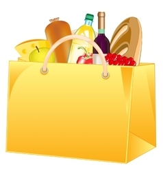 Package with product vector image