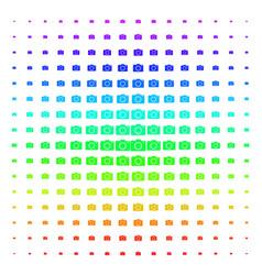 photo camera shape halftone spectral grid vector image