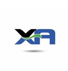 Xa logo vector