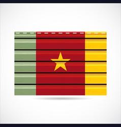 Cameroon siding produce company icon vector image