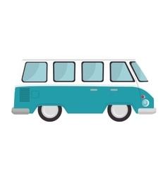 retro van vehicle vector image