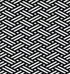 Japanese tatami mat vector image vector image