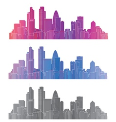 London city vector image vector image