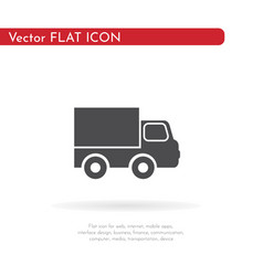 Car icon for web business finance and vector