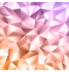 Crystal colorful background vector image