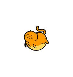 Cute cat design vector