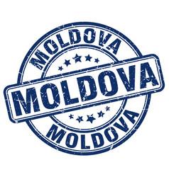 Moldova stamp vector