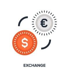 Money exchange vector