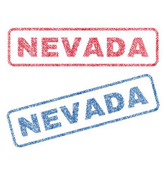 Nevada textile stamps vector