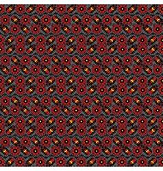 Ukrainian traditional seamless pattern vector image