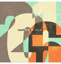 new year card 2016 vector image vector image