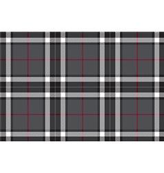Gray tartan fabric textire seamless pattern vector image vector image