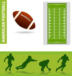 football design elements vector image vector image