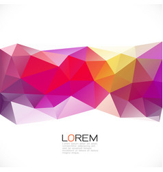 abstract colorful geometric stripe template with vector image