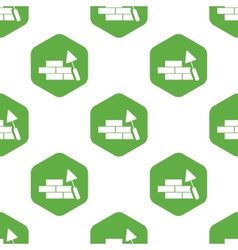 Building wall pattern vector image