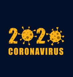 coronavirus covid-19 background vector image