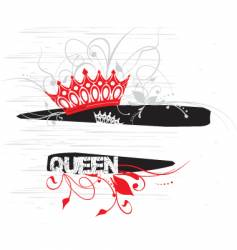 Crown graphic vector