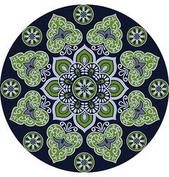 floral ethnic mandala vector image