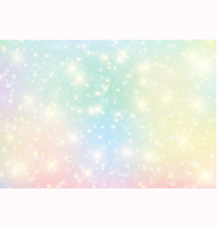 galaxy fantasy background and pastel color vector image