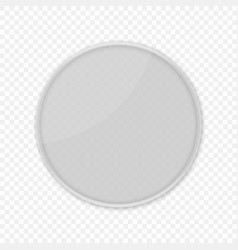 petri dishes isolated vector image