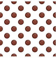 Sprinkling biscuit pattern seamless vector