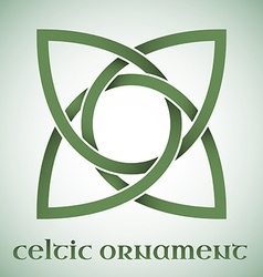 Celtic ornament with gradients vector image