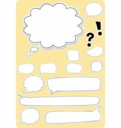 text boxes vector image vector image