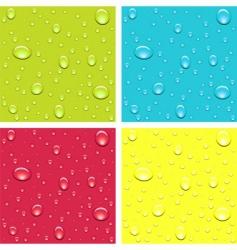 drops of dew vector image vector image
