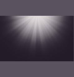 halftone sun-ray background vector image