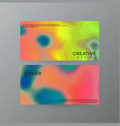 Abstract creative cover concepts collection vector