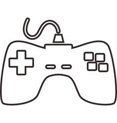 Controller icon vector