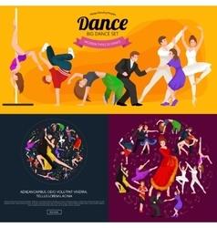 Dancing People Dancer Bachata Hiphop Salsa vector