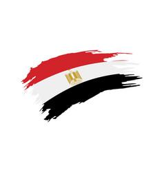 egypt flag vector image