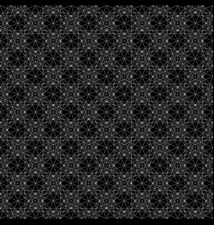 Geometric pattern with dense intersecting thin vector