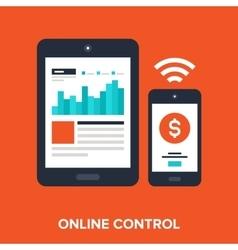 Online control vector