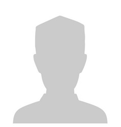Profile placeholder image gray silhouette vector