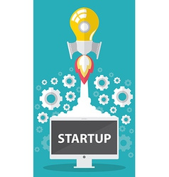 Startup vector image vector image