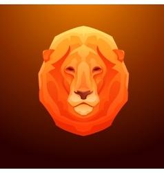 Vintage lion label Retro design graphic vector image vector image