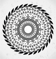 Artistic Rounded Ornament vector image vector image