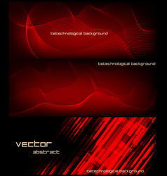 Abstract banner for facebook poster design vector