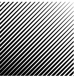 Abstract monochrome diagonal striped background vector