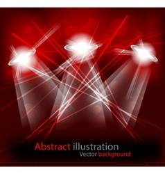 Bright lights vector