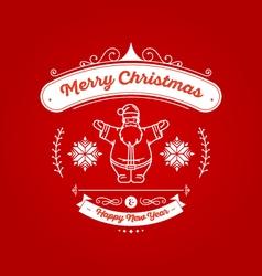 Christmas Badge 1 vector