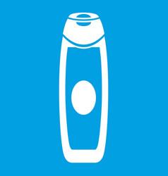 Deodorant icon white vector