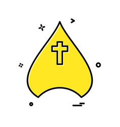 father cap icon design vector image
