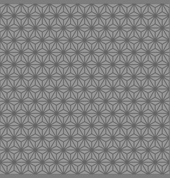 Grayscale geometric figures pattern design vector